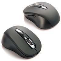 Wholesale Wireless Mini Bluetooth Optical Mouse Black DPI for PC Tablet UL H210520