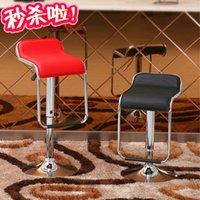 hydraulic chair lift - Shanghai bar chairs stool fashion creative Continental hydraulic lift chair simple big promotion