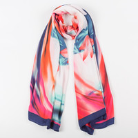 Wholesale 2016 spring and autumn women new fashion silk scarf large size ladies shawl color optional