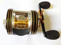 Wholesale Mingyang BC400 Round Baitcasting Fishing Reels BB Right handed Gear Ratio Line Capacity LB YD