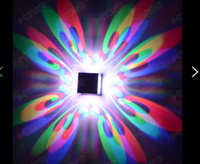 Wholesale Butterfly W led wall lamp ceiling hallway ceiling KTV hotel bar shape lights background lights
