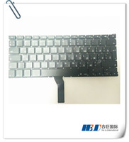 Wholesale Freeshipping Brand NEW Original Laptop Air A1369 A1466 Russia keyboard built in for MBA Air quot Unibody MOQ