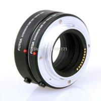 Wholesale FOTGA EOSM Autofocus Electronic Extension Tube mm for Canon EOS M Micro Camera and EOS M Mount Autofocus Lens Black