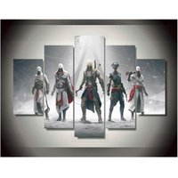 assassin poster - Canvas Printings Game Assassins Creed Painting Wall Art Home Decoration Poster Canvas Unframed