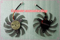 air stocking video - NEW original EVERFLOW T128010SM mm Graphics Video Card Cooler Fan mm V A Wire Pin for GIGABYTE GTX