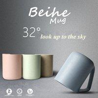 acid tea - High quality plastic creative mug cup coffee mugs milk tea cups thermomug copo tepmoc thermos