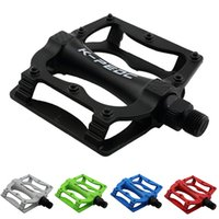 Wholesale Outdoor Bicycle Pedals Mountain Bike Flat Platform Ball Bearing Alloy Pedal MN0017 kevinstyle