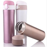 act stocks - Stainless Steel Vacuum Flask Bullet Style Cup Thermal Insulation Bottle Five Colors ml