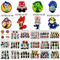 b m trans - Free DHL Min Order Shopki Zootopia Paw Patr Hotel Trans Shoe Charms Buckle Shoe Accessories Decoration Cartoon Characters Kids Gift