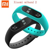 Wholesale New Original Xiaomi Mi Band Miband Wristband Bracelet with Smart Heart Rate Fitness Touchpad OLED Screen