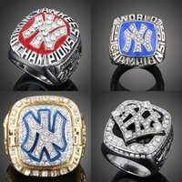 Wholesale 1977 New York Yankees World Series Championship Ring With Ring Box