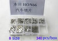 Wholesale Car Lock Reed HON66 Lock Plate For Honda Half plate Full plate Auto Lock Repair Accesories locksmith Tool