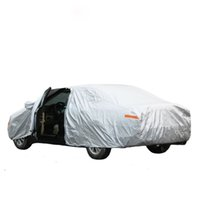 Wholesale Covers On Cars Size Silver Color Breathable UV Protection Outdoor Indoor Shield Car Covers