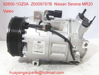 Wholesale China supply Valeo auto air compressor Nissan Serena MR20 GZ0A Z0009797B