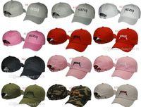 Wholesale hip hop hat Casquette Yeezus Cap Hat Yeezy Boost snapback baseball cap pray ovo baseball cap Anti Social Social Club cap