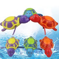 11*10.5*5 Plastic Sounding New Cute Swim Animal Wound-up Chain Clockwork Baby Kid Bathing Toy For Bathroom Gift DHL Free XL-T13