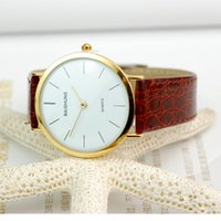auto simplicity - JECKSION fashion watches PC Thin Brown Belt Watch Watches For Men And Women Casual Simplicity