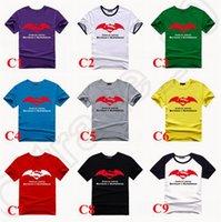 batman logo shirt - New BATMAN V SUPERMAN Dawn of Justice Movie Logo Print T shirts Men Women Casual Cotton T shirt Crew Neck Tee LJJJ80