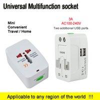 additional usb - Second Generation super Socket Two additional USB Universal Adapter Plug Socket AC100 V A Universal All US UK AU EU