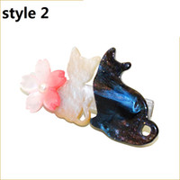 Wholesale 15 off style Cherry Blossom Kitten Hairpin Hair Accessories hair bands headband Metal Hair Clip Bobby Pin Ponytail Holder