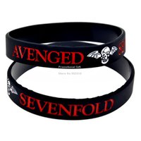 avenged sevenfold music - Shipping Avenged Sevenfold Silicon Bracelet for Music Concert Show Your Support For Them By Wearing This Wristband