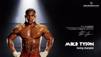 art mike - A872 Mike Tyson Boxer Boxing Sports Art Silk Poster Room Wall Decor x36inch