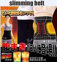 abdominal trimmer - 2016 Hot Sale Steps Slimming Belt Trimming Sweat Sauna Tummy Waist Belt Slimming Belt Abdominal Band heating Cummerbund Light Fat belt