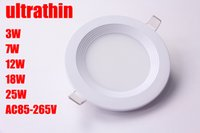 Wholesale ultrathin Hight light High Power Led Ceiling Lamp Downlights W W W W W W AC85 V warm white cool white ceiling lights