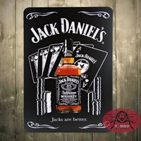 Whisky Jack Are Better Wall Plaque Steel Sign Word Art Primitive Rustic Home Decor A 153 160909