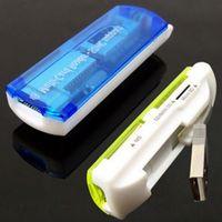 All in 1 USB 2.0 Carte Mémoire Connecteur Adaptateur Lecteur Pour Micro SD MMC SDHC TF M2 Memory Stick Duo RS-MMC
