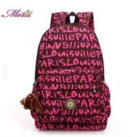 red monkey - Women backpack brand Nylon Waterproof backpacks Female Casual Sport Travel women backpack flower mochila feminina gift monkey