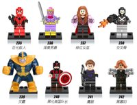 ant toy - Marvel Superheroes Falcon Spider Man ANT MAN She Hulk Black Panther Captain America Civil War Minifigures Toys X0110