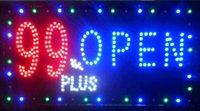 Wholesale 2016 hot sale inch Indoor Ultra Bright Led Plus store Open Neon illuminated signs