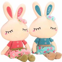 Wholesale Rabbit plush toy girl doll pillow rogue lop rabbits children birthday gift Valentine s Day present to send his girlfriend send children