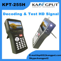 Wholesale 4 Inch Full HD Portable NEW Satellite Finder Build in Keyboard Backlight KPT H