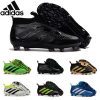 ace black - Adidas Originals Ace purecontrol soccer boots Pure Control Football Shoes Soccer Cleats Boots Cheap Original Football Shoes