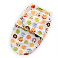 Wholesale Different types Sleeping Bags Baby Bath Towel Double Layer Winter Strollers Bed Swaddle Blanket Wrap Cute Baby Sleeping Bag