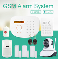 based costing - Android IOS APP control wireless security home alarm system based in IP camera low cost GSM alarm system GS S2G