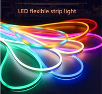 ac hot wire - Hot sale LED Neon Flex Strip Light AC220V SMD2835 LEDs M LED Neon Rope Light colors