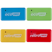 Wholesale NitroOBD2 CTE038 Gasoline Benzine Cars Chip Tuning Box More Power Torque Nitro OBD Plug and Drive Nitro OBD2 Tool High Quality