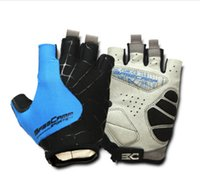 Wholesale 2016 BASECAMP Brand New Nylon Short Cycling Gloves Half Finger Style for Bike Bicycle Sports Gloves BC