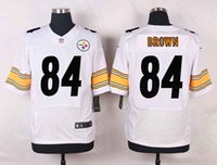 antonio mix - Mens Soccer Rugby Jerseys Antonio Brown Elite White Football Jersey Accept Mixed Orders Best Quality Size M XXXL
