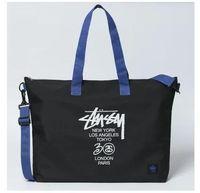 Wholesale Letter Stussy Hand Bag Canvas Bag Black Blue Color Fashion Bag Travel Bags