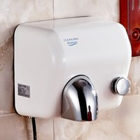 Wholesale mobile phone automatic induction hand dryer drying mobile phone stainless steel hand press