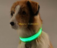 basic rings - 50pcs USB Rechargeable Pet LED collar Dog Flashing LED Collar glowing puppy Cat necklace ring accessories