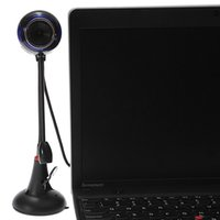 Wholesale USB HD Webcam Web Cam Video Camera With Microphone Sucker Stand For PC Computer Laptop Notebook