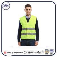 Wholesale Safety sanitation highways construction build labourer work vest high reflective coast abor safety vest