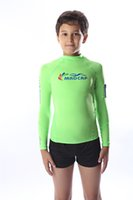 Wholesale MADCAP Boys Rashguard Long Sleeve Rash Vest Surf Swim Shirt Kids Rashie Sunshirt UPF