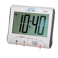 Wholesale 2016 new LCD Digital Kitchen Timer Countdown Cooking Timer Count Down Alarm Clock Kitchen Timers