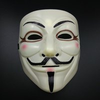 Wholesale 30pcs Sales V For Vendetta Mask Guy Fawkes Anonymous Halloween Masks Fancy Cosplay SP